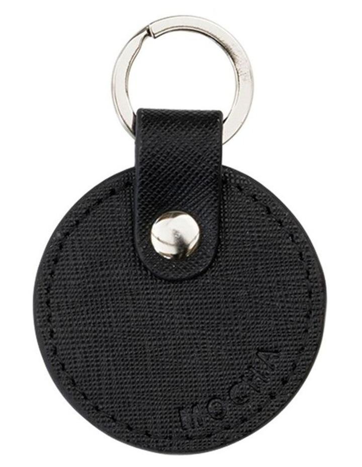 Jane Leather Key Ring - Black image 1