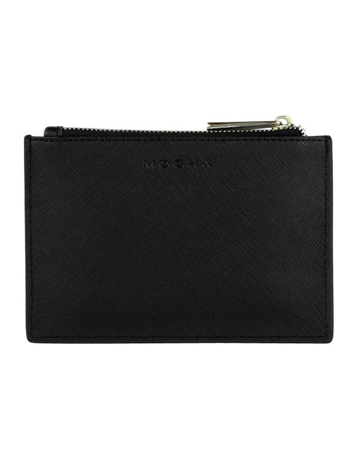 Jane Leather Coin Purse - Black image 1