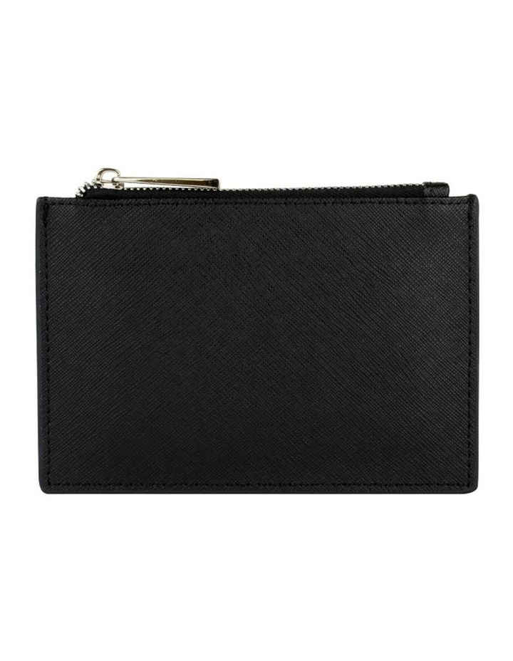 Jane Leather Coin Purse - Black image 3
