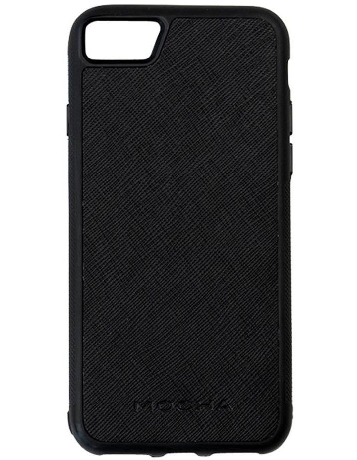 Jane Leather Hard Case For iPhone 8 / 7 - Black image 1