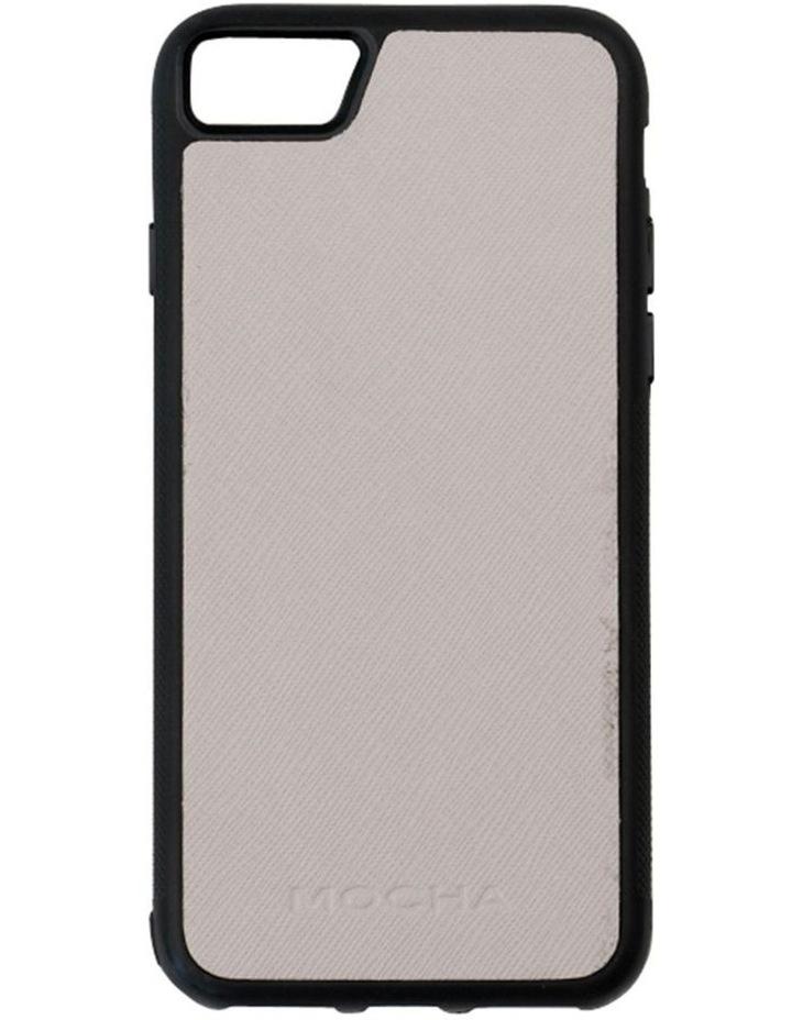 Jane Leather Hard Case For iPhone 8 / 7 - Grey image 1