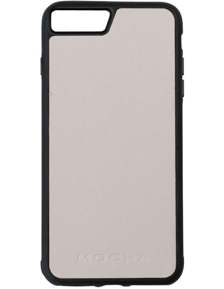 Jane Leather Hard Case For iPhone 8 Plus / 7 Plus - Grey image 1