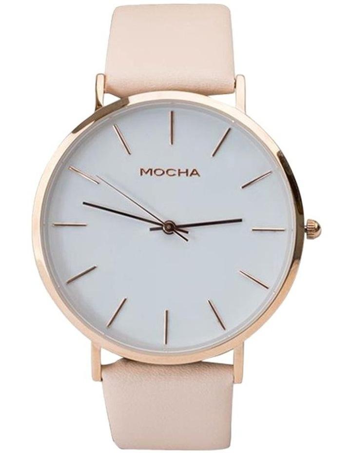 41mm Watch - White/Rose Gold/Blush image 1