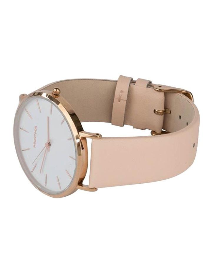 41mm Watch - White/Rose Gold/Blush image 2