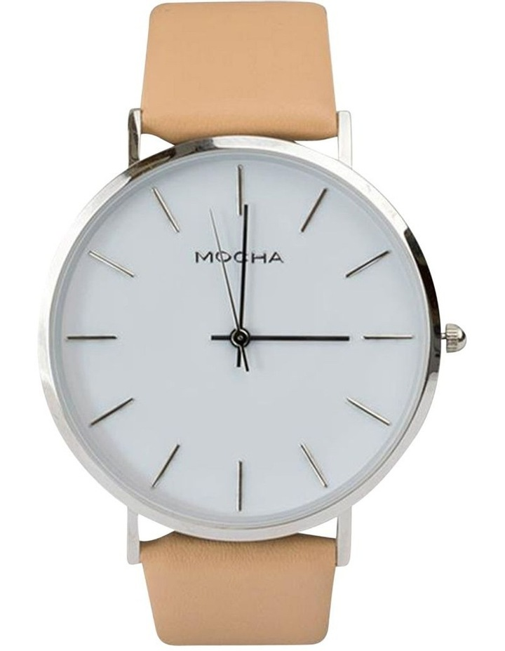 41mm Watch -White/Silver/Sand image 1