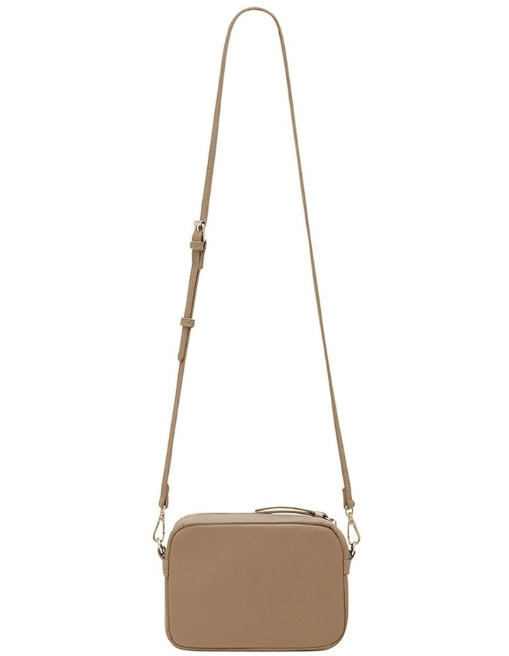 Mimi Pleat Crossbody Bag - Taupe image 2