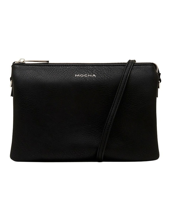 Triple Jessie Crossbody Bag - Black image 2