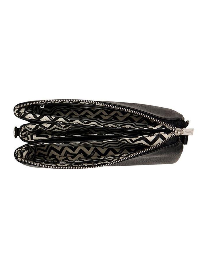 Triple Jessie Crossbody Bag - Black image 3