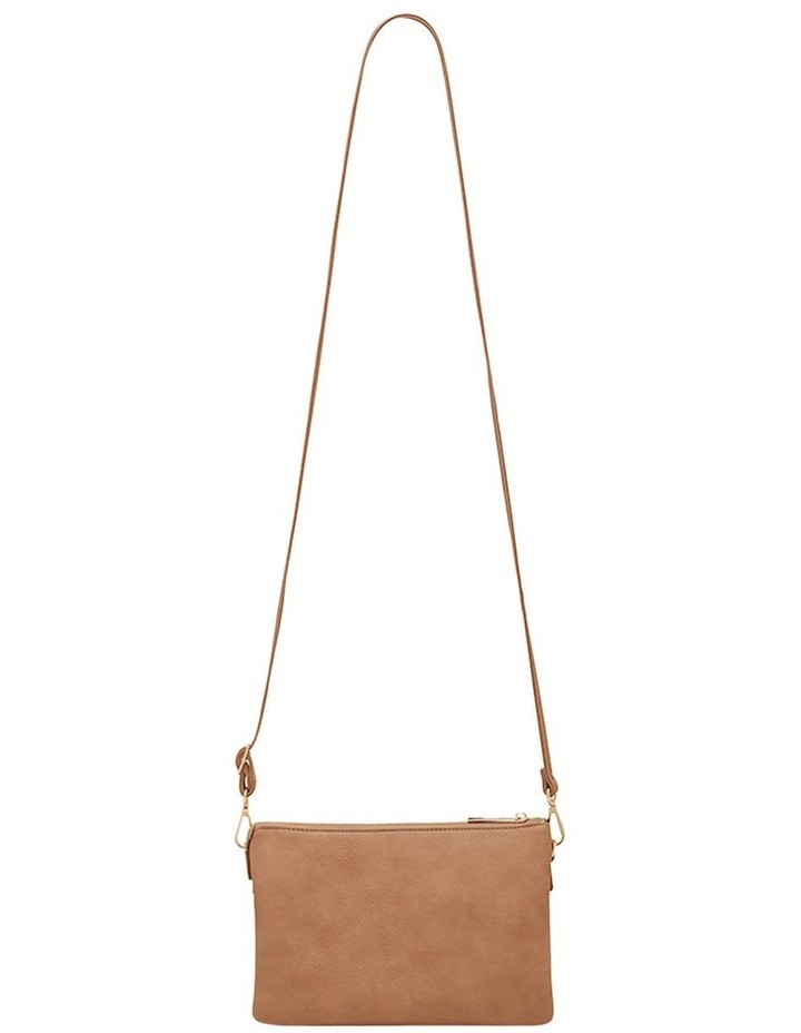 Triple Jessie Crossbody Bag - Taupe image 2