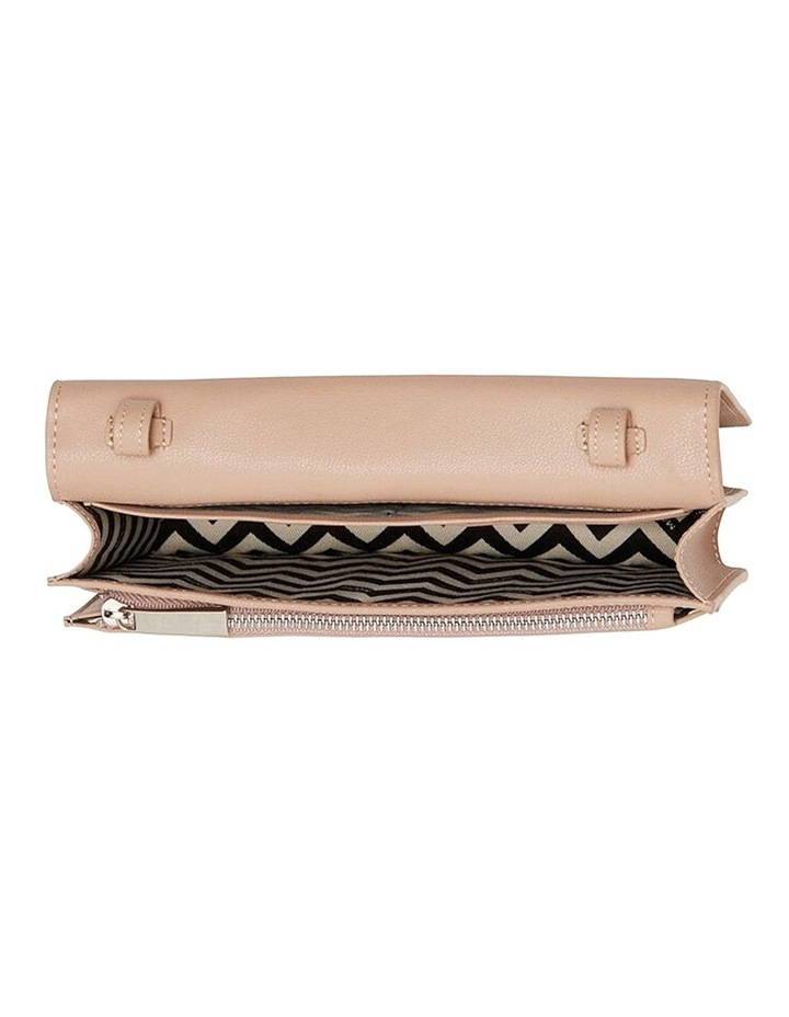 Leather Nancy Mini Crossbody - Taupe image 2