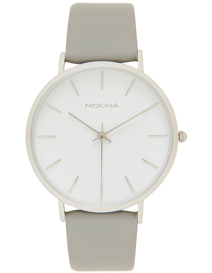 41mm Watch -White/Silver/Grey image 1