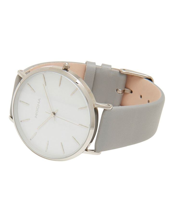 41mm Watch -White/Silver/Grey image 3