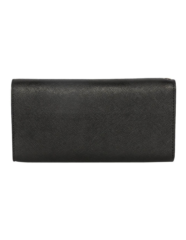 Day Organiser Black Leather Clutch image 4