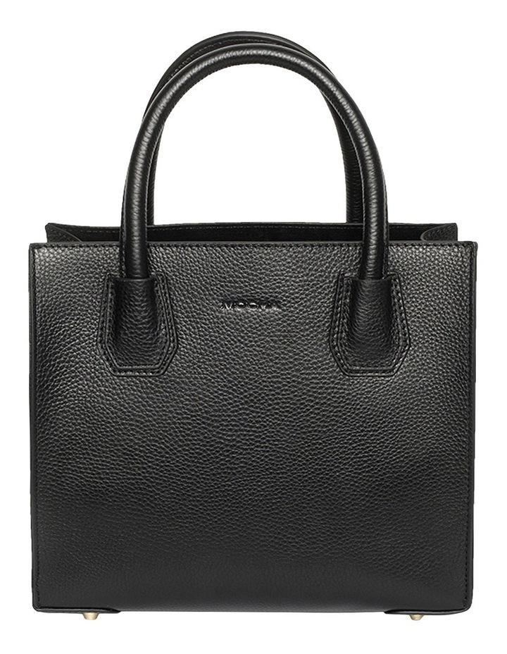 Minnie Leather Tote Bag - Black image 1