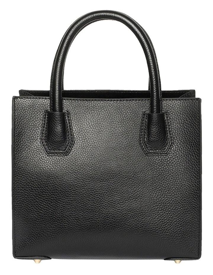 Minnie Leather Tote Bag - Black image 2