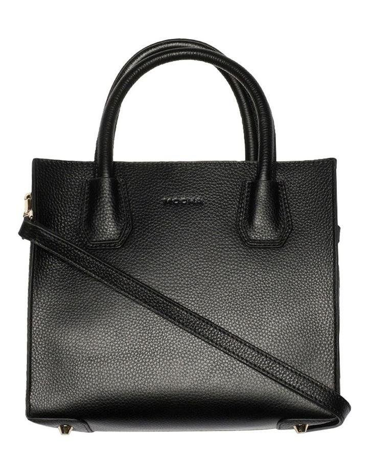 Minnie Leather Tote Bag - Black image 4