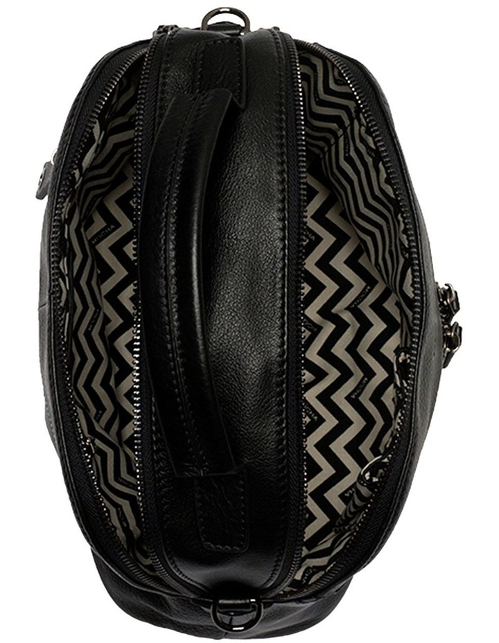 Rachel Leather Bag  - Black image 3