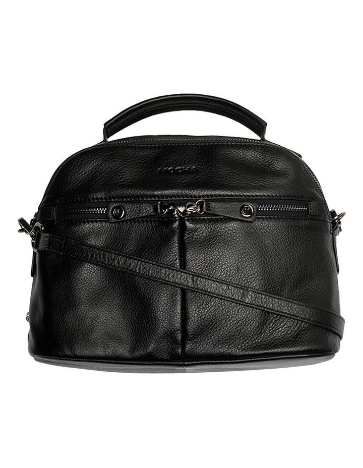Rachel Leather Bag  - Black image 4