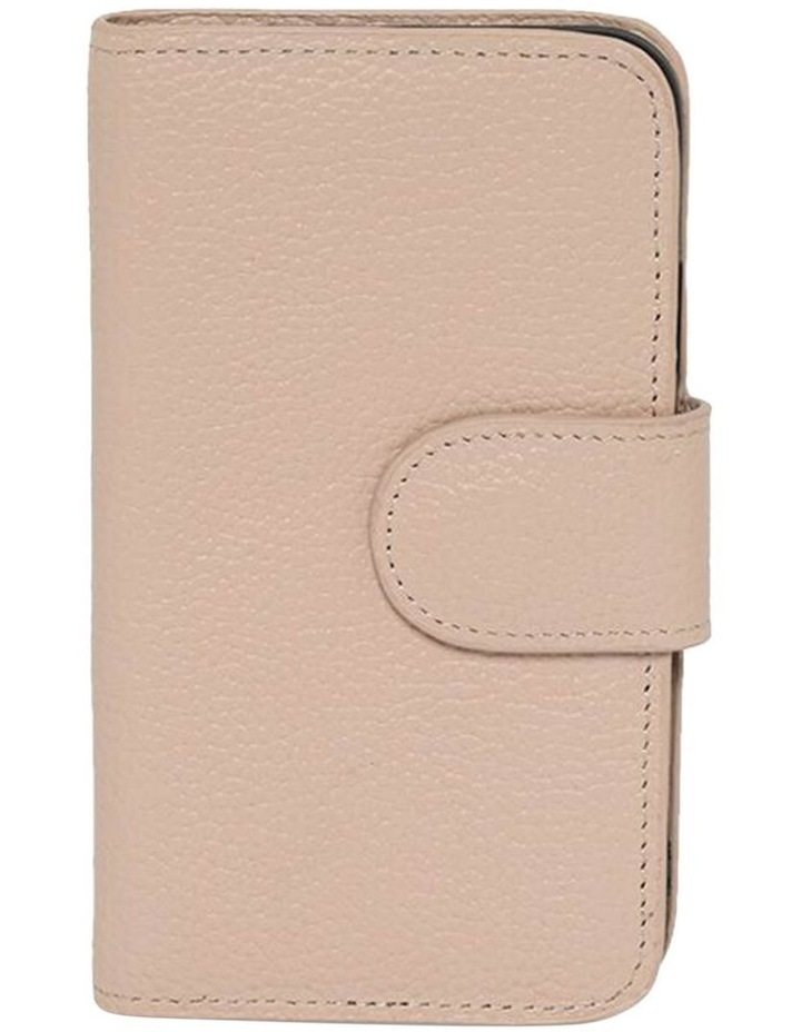 Leather Flip Phone Case For iPhone XS / X - Blush image 1