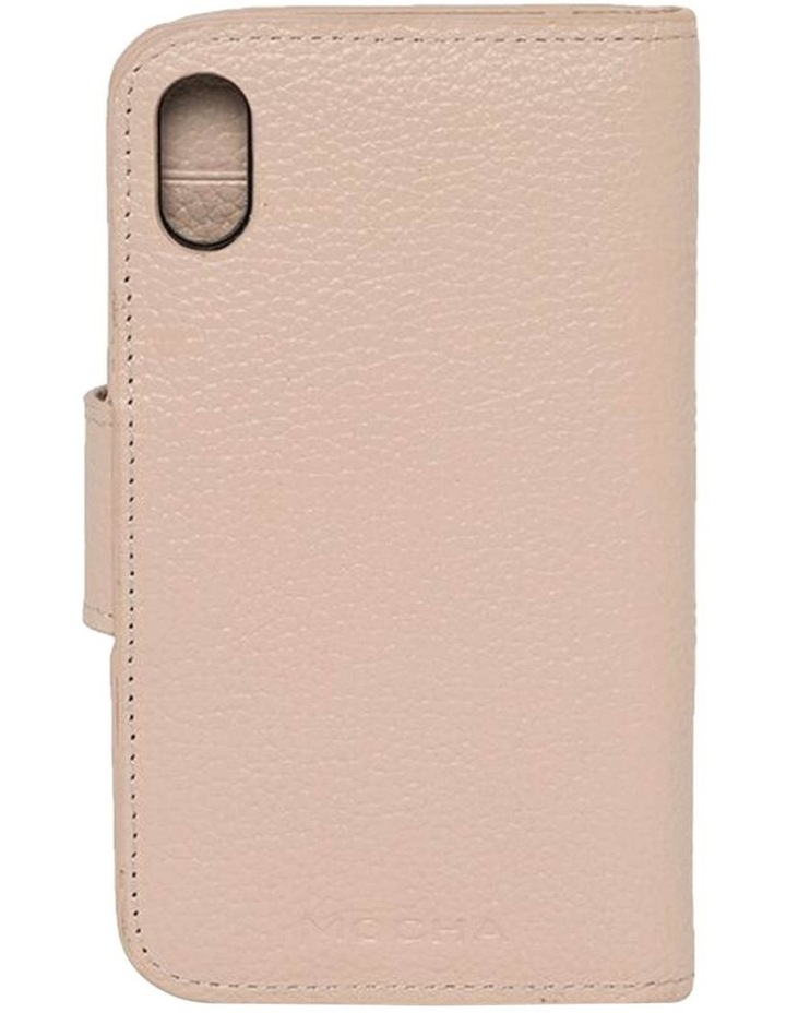 Leather Flip Phone Case For iPhone XS / X - Blush image 2