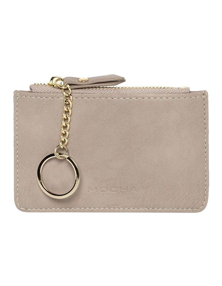 Key Ring Coin Wallet-Grey image 1