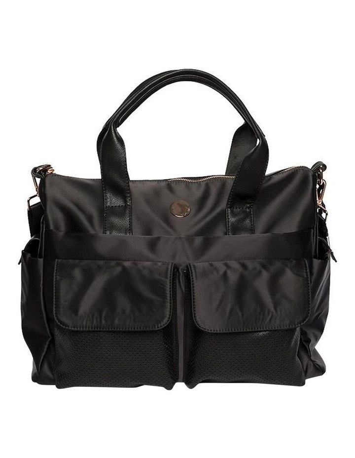 Lifestyle Baby Bag - Black/Rose Gold image 1