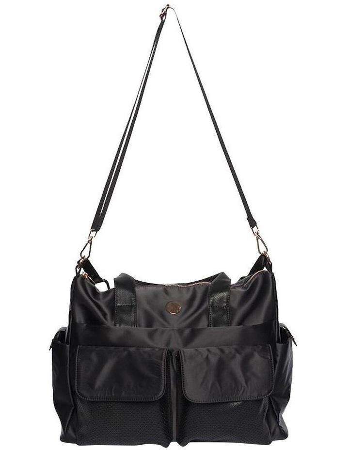 Lifestyle Baby Bag - Black/Rose Gold image 2