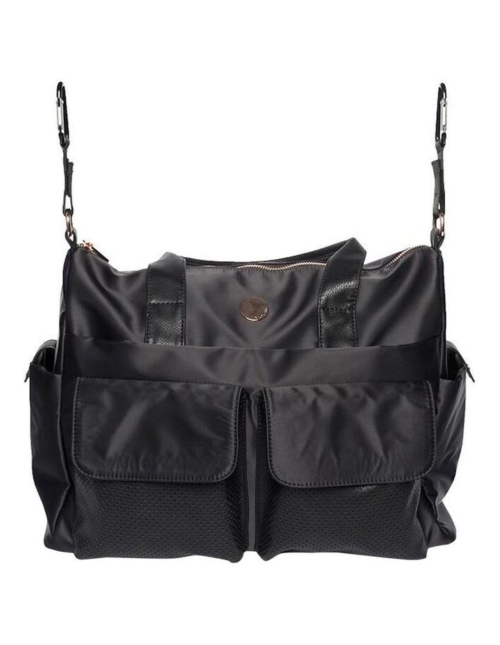 Lifestyle Baby Bag - Black/Rose Gold image 3