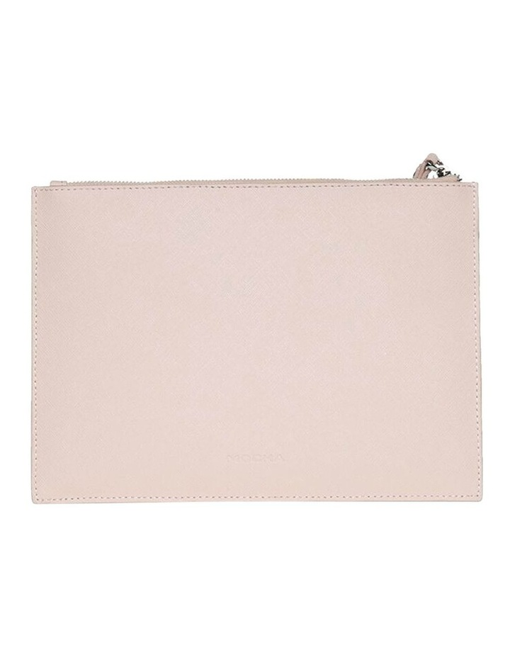 Jane Blush Double Leather Clutch image 3