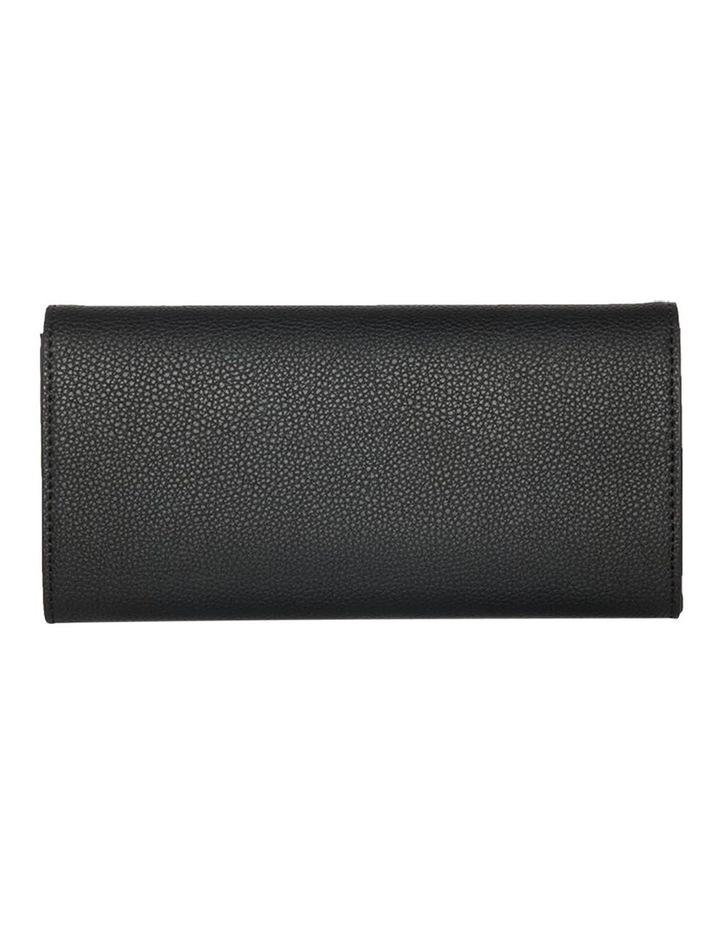 Dual Tone Zip Wallet-Black image 4