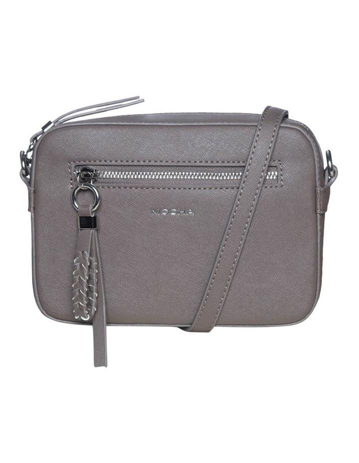 Mimi Pleat Crossbody Bag-Dark Taupe image 2