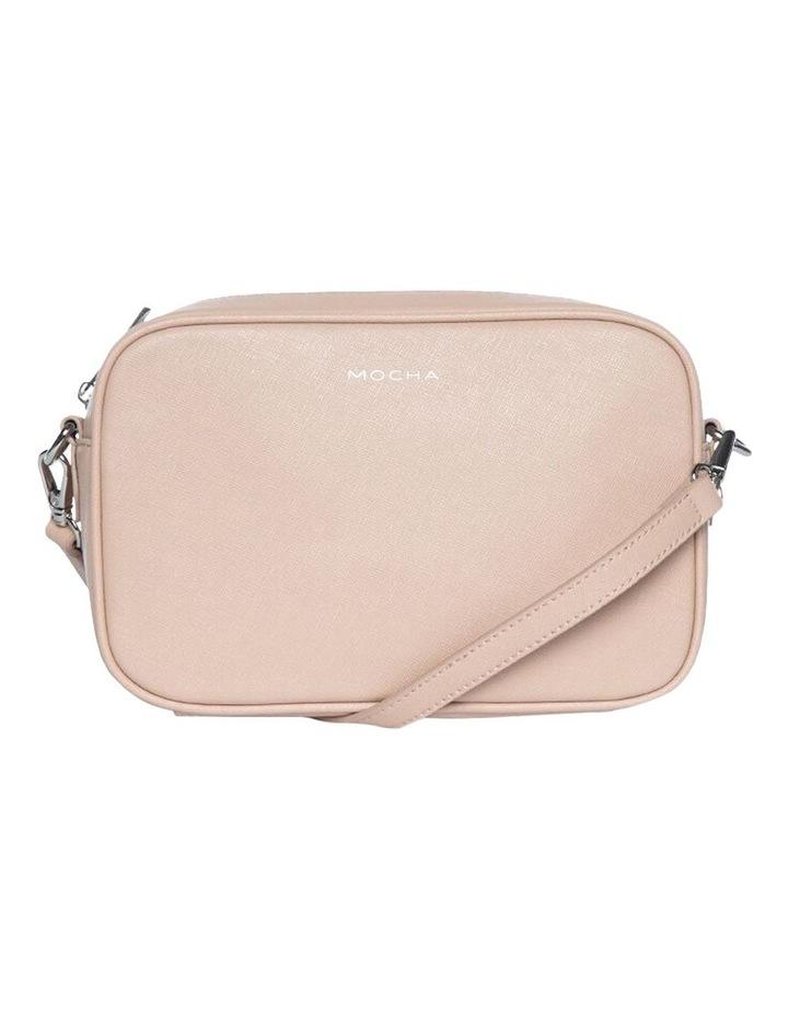 Joan Box Leather Crossbody Bag - Nude image 1