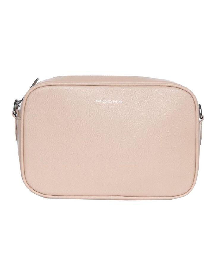 Joan Box Leather Crossbody Bag - Nude image 2