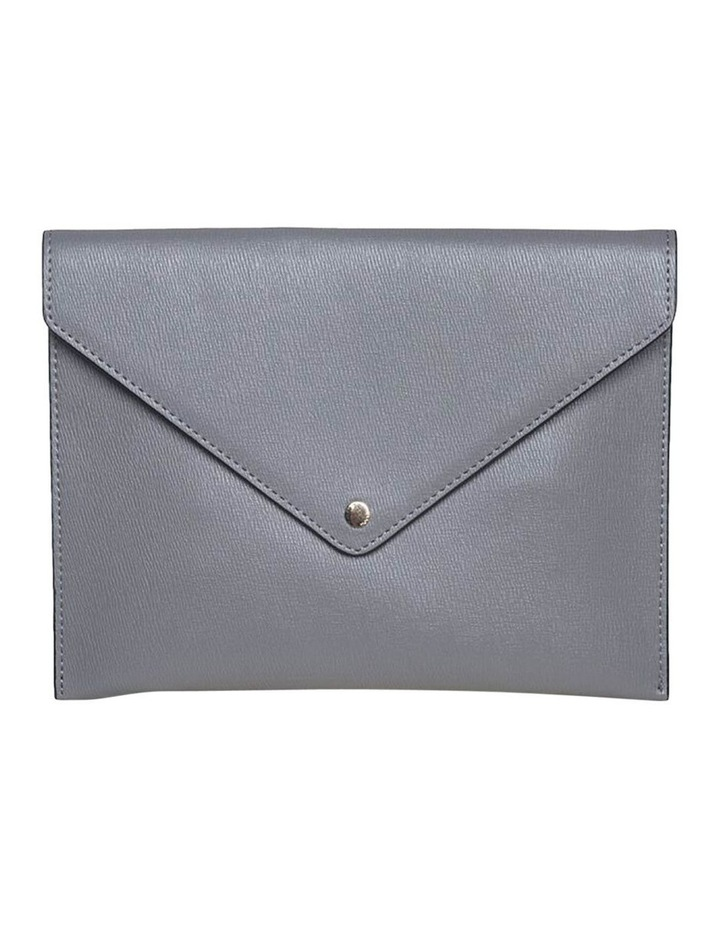 Becca Envelop Clutch-Grey image 1