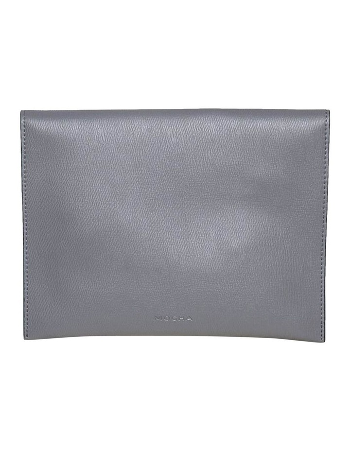 Becca Envelop Clutch-Grey image 4