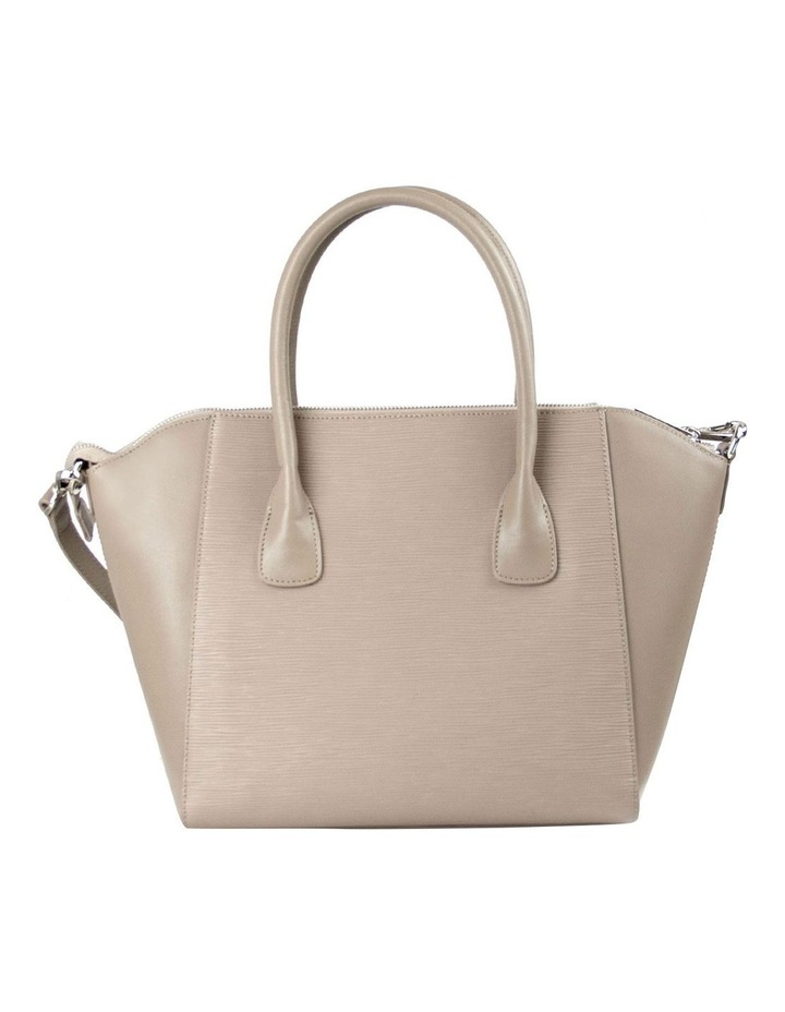 Zabrina Leather Tote Bag - Taupe image 2