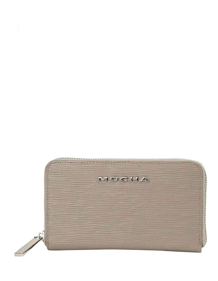 Zabrina Small Leather Wallet - Taupe image 1
