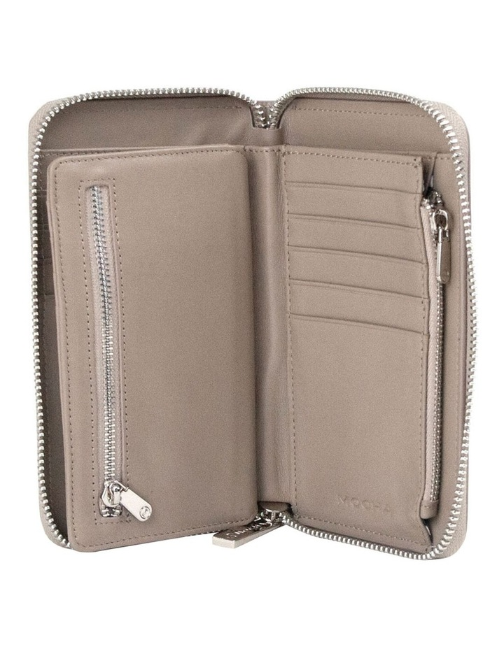 Zabrina Small Leather Wallet - Taupe image 4