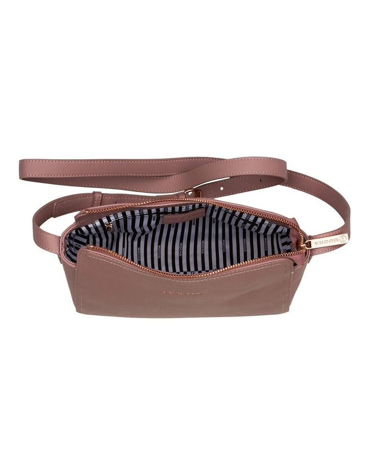 Samantha Crossbody Bag - Mauve image 4