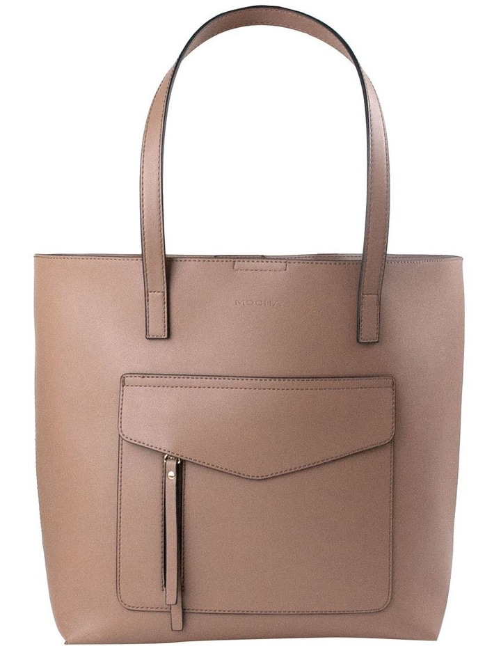 Portia Tote Bag - Taupe image 1
