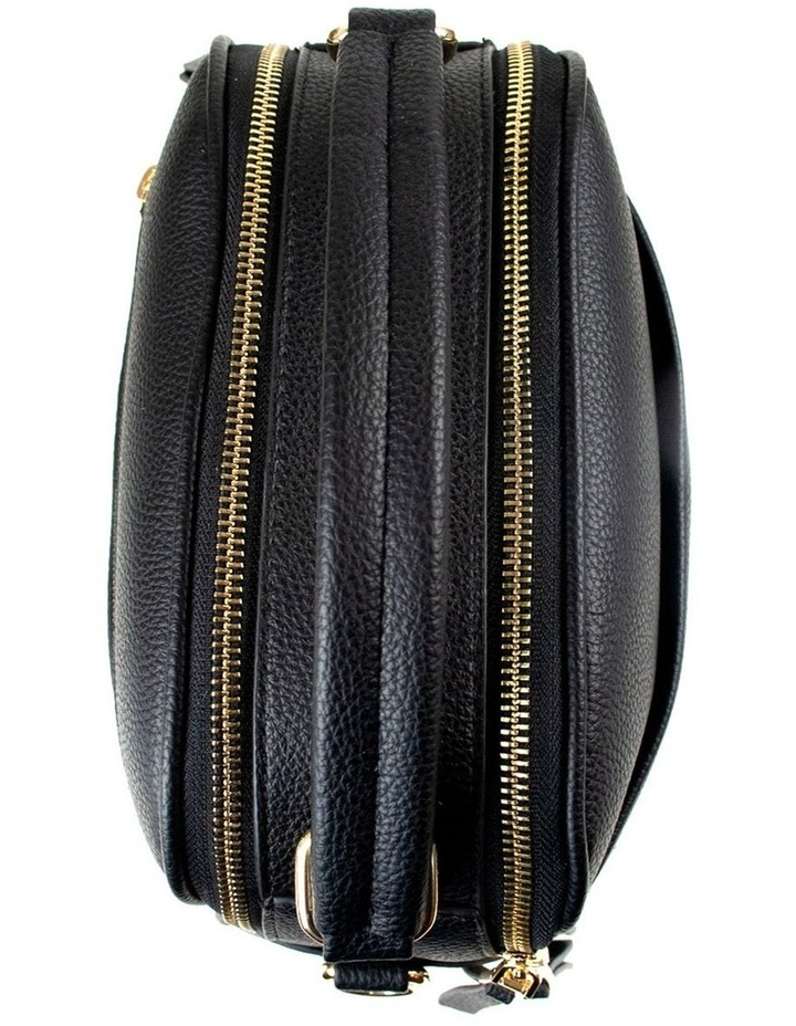 Michelle Double Zip Crossbody - Black image 3