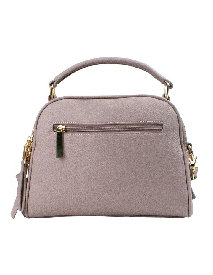 Michelle Double Zip Crossbody - Taupe image 2