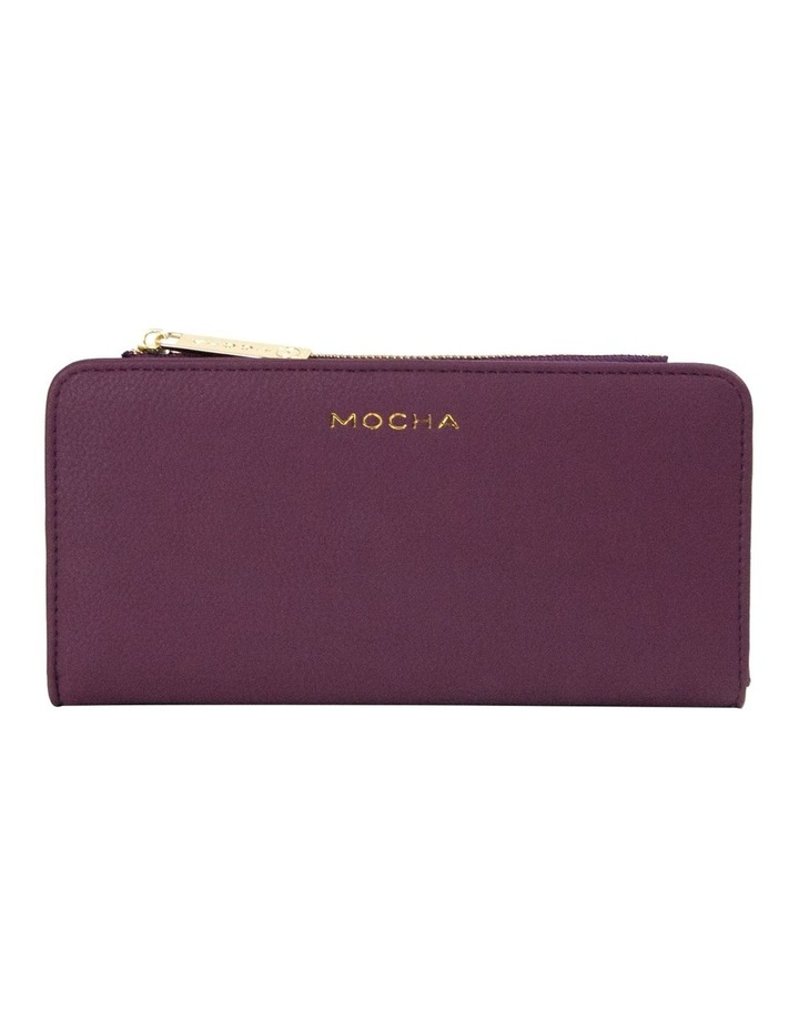 Misa Long Wallet - Burgundy image 1