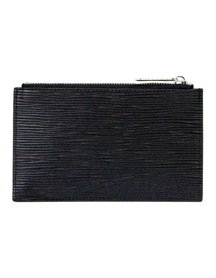 Zabrina Leather Coin Wallet - Black image 2
