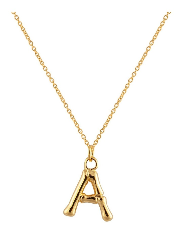 Initial Necklace - A image 1