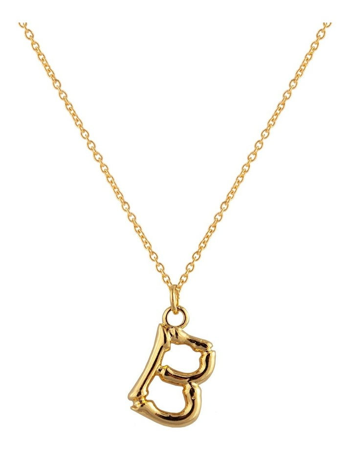 Initial Necklace - B image 1