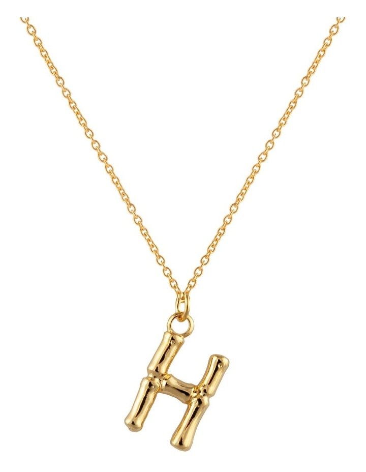 Initial Necklace - H image 1