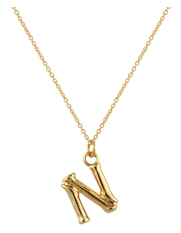 Initial Necklace - N image 1