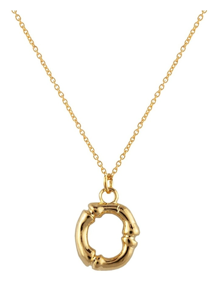 Initial Necklace - O image 1