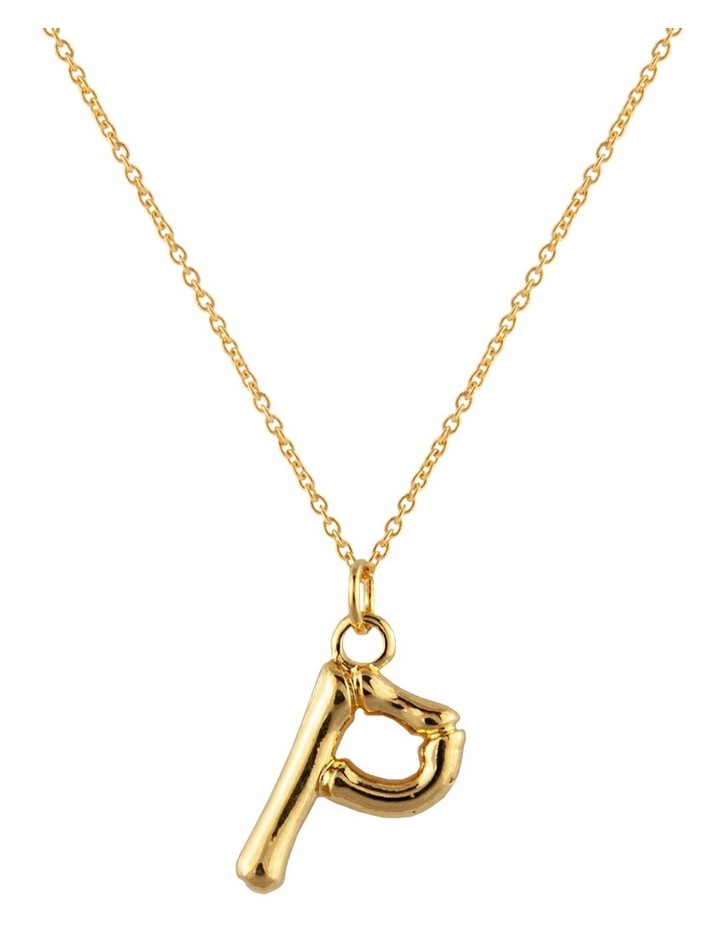 Initial Necklace - P image 1